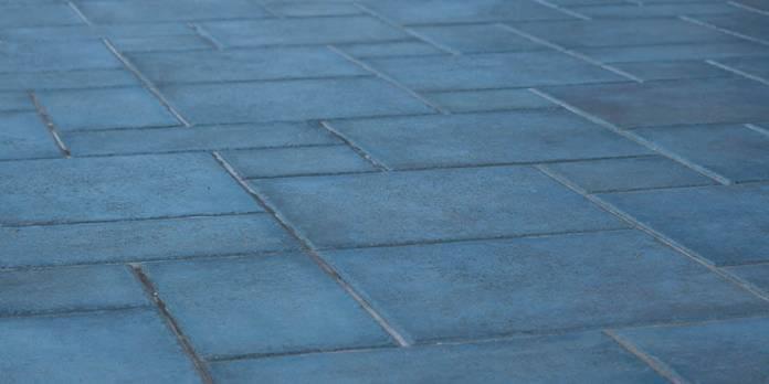 fughe di un pavimento in gres porcellanato